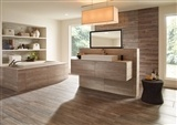 Veneto Sand Veneto Porcelain_Veneto Noce Veneto Porcelain_Golden Honey Pencil Ledger Panels