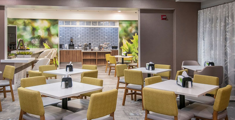 White-hotel-countertops-and--tile-flooring-Sparkling-white-Room-Scene