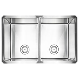Double Bowl Handcrafted Kitchen Sinks