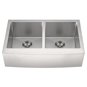 Double Bowl Farmhouse Apron 50/50-332 Kitchen Sinks