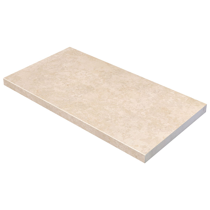 PETRA BEIGE 13X24X3CM POOL COPING ROUND