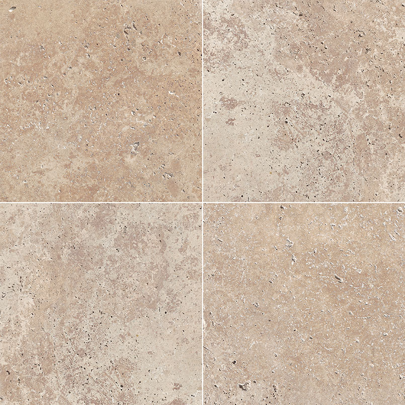 12x12 Honed And Filled Tile Travertine