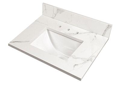 Clacatta Nowy Vanity top Countertops