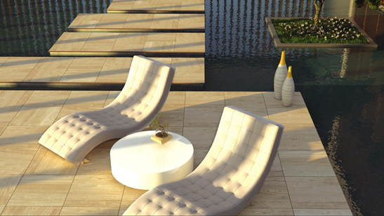 Arterra™ Premium Porcelain Pavers Installation