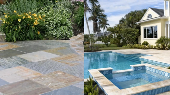 Water Features - Pavers & Copings