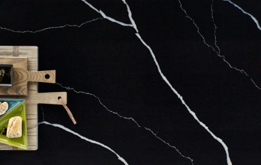Black Quartz Color Graphic